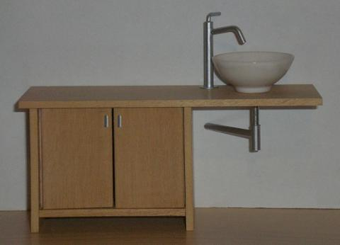 *REDUCED* ELF asymmetrical vanity unit kit