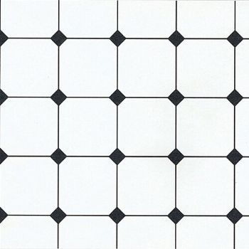 Black and white tile paper