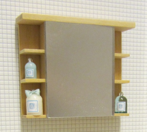 EAZY LIVING bathroom cabinet with shelves