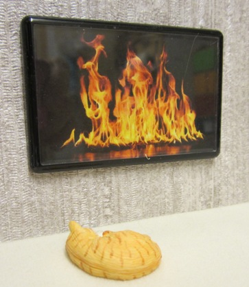 ELF wall fire