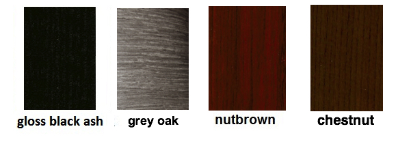 Plastic film for exotic wood effect  finishes