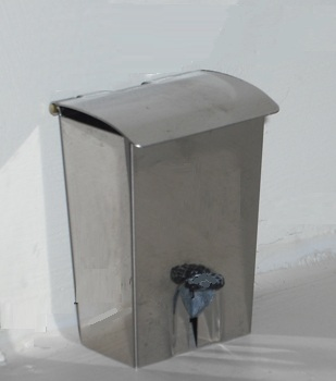 *NEW LOWER PRICE* Stainless steel pedal bin