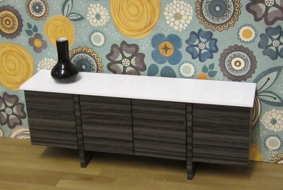 ONE-OFF Bridge sideboard in ebony