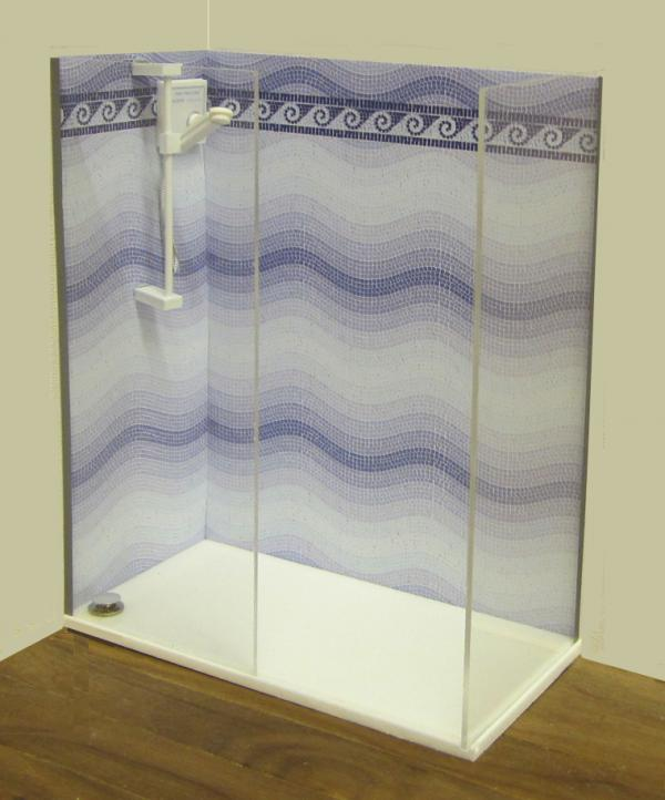 NEW Walk-in shower kit